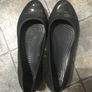 Årlig Förfall Oskuld  CROCS Shoes | Womens Ballerina Flat Like New Size 10 | Poshmark